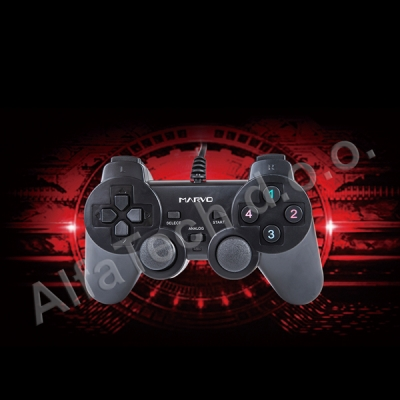 MARVO GT-007 BK Double shock Controller