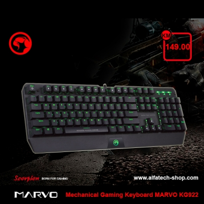 Mechanical Gaming Keyboard MARVO KG922
